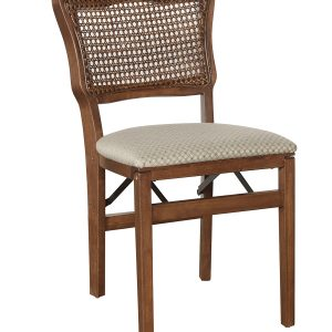 Model 762 French Cane Back Folding Chair