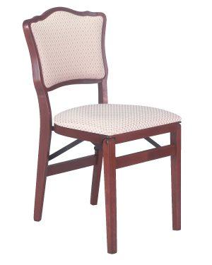 Model 861 French Upholstered Back Folding Chair