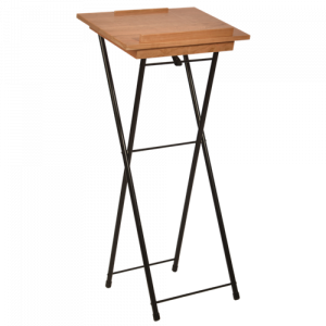 Cherry Wood Top for Deluxe Folding Register Stand