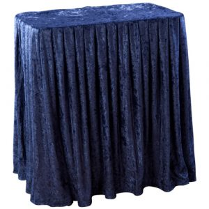 Portable Folding Display Table Drape