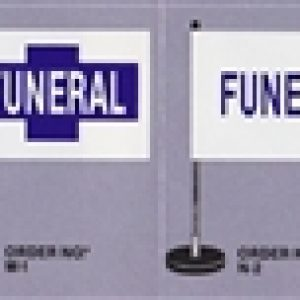 Hopkins Flx-A-Post Magnetic Funeral Flag