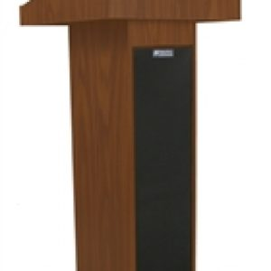 Portable Lectern With Sound System