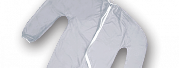 Full Zippered Clear Unionalls