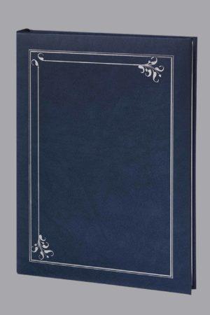 Art Deco 6 Ring Register Book