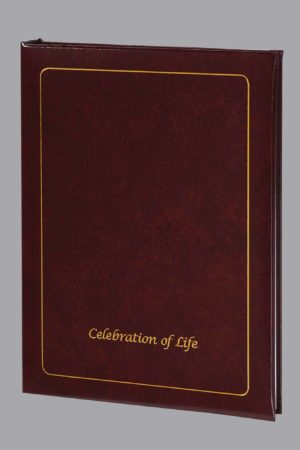 Celebration Of Life 6 Ring Register Book