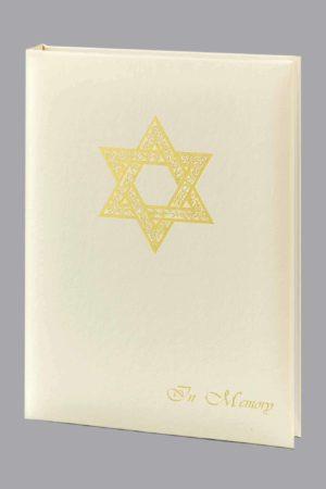 Jewish 6 Ring Register Book