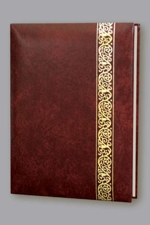 Classic Scroll 6 Ring Register Book