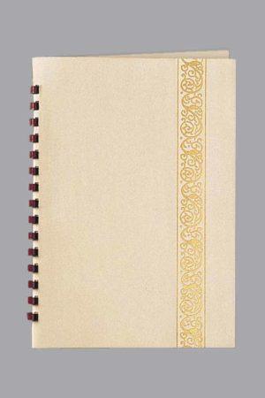 Foil Classic Scroll Leatherette