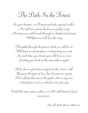 The Path In The Forest Service Record