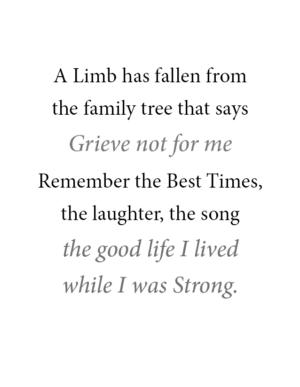 Tree Of Life Service Record