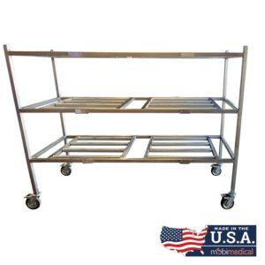 Stainless Steel Side Loading Roller Rack