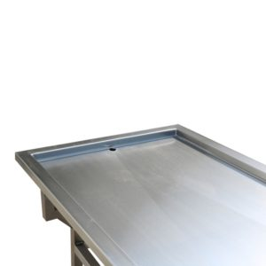 Oversized Bariatric Autopsy Trolley